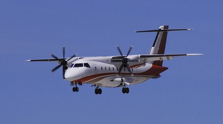 Brasilia and Dornier jets are commonly used for  junket flights to and from Las Vegas, Reno or Atlan
