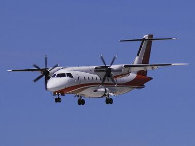 Sports teams are common customers for 30-seat Dornier jets and turboprop airliners.