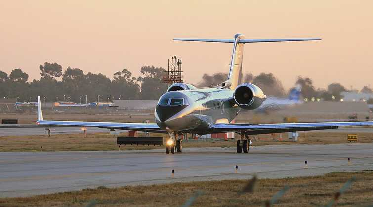 Large cabin private charter airplanes are generally referred to as