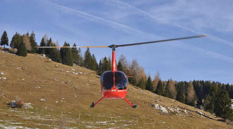 Helicopters range in size from small, medium and large. Charter helicopters may be utilized for gas