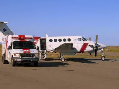 Medical related air charters are a special situation that require charter operators trained specific